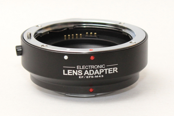 Electronic Auto Focus AF adapter for Canon EOS EF EF-S lens to Micro M4//3 Camera